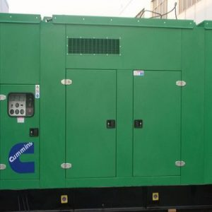 Máy phát điện cũ Cummins 600kva