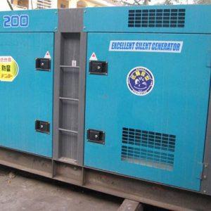 Máy phát điện cũ Denyo 200kva