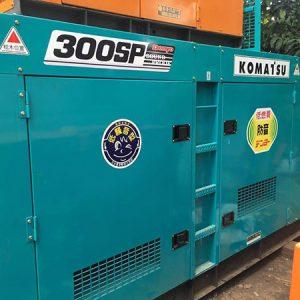 Máy phát điện cũ Komatsu 300kva
