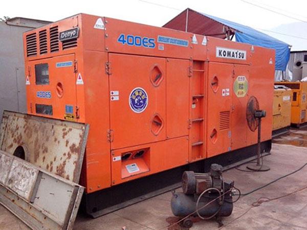 Máy phát điện cũ Komatsu 400kva