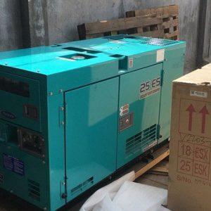 Máy phát điện cũ Mitsubishi 25kva