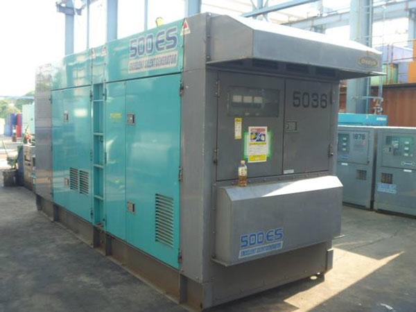 Máy phát điện cũ Mitsubishi 500kva