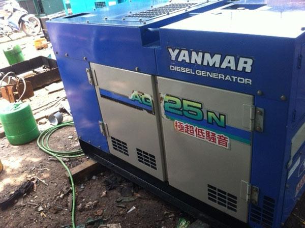 Máy phát điện cũ Yanmar 25kva
