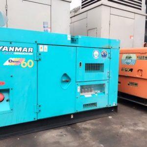 Máy phát điện cũ Yanmar 60kva